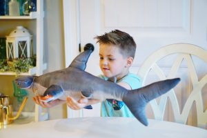 Shark Week 2018 - Fun Activities and Games for Kids via Misty Nelson, frostedblog -- frostedevents.com #sharkweek #sharks #kidstoys #games