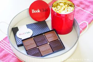 Bookclub Movie Girls Night In Party via Misty Nelson Frosted Blog frostedevents.com