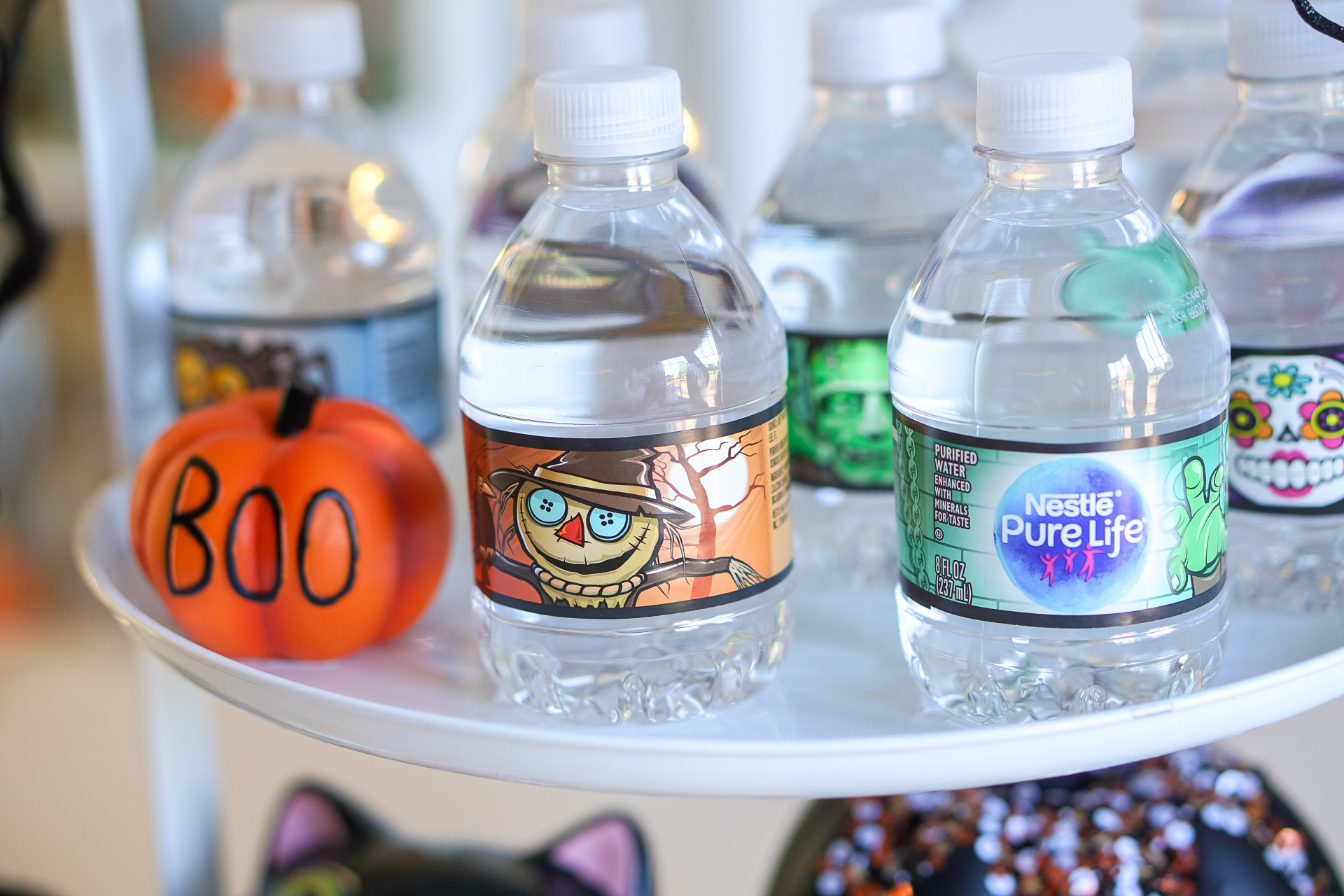 Halloween Kids Party Ideas via Misty Nelson, mom blogger and parenting influencer frostedblog.com @frostedevents