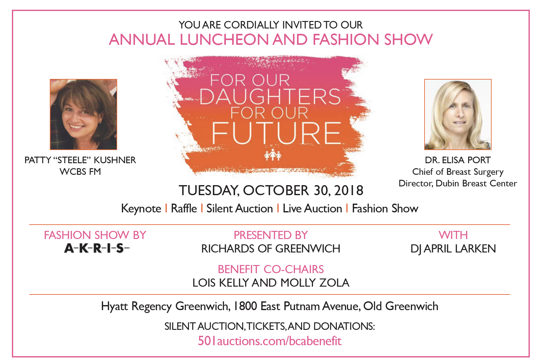 Breast Cancer Awareness -Alliance- Breast Cancer Awareness Charity Auction
