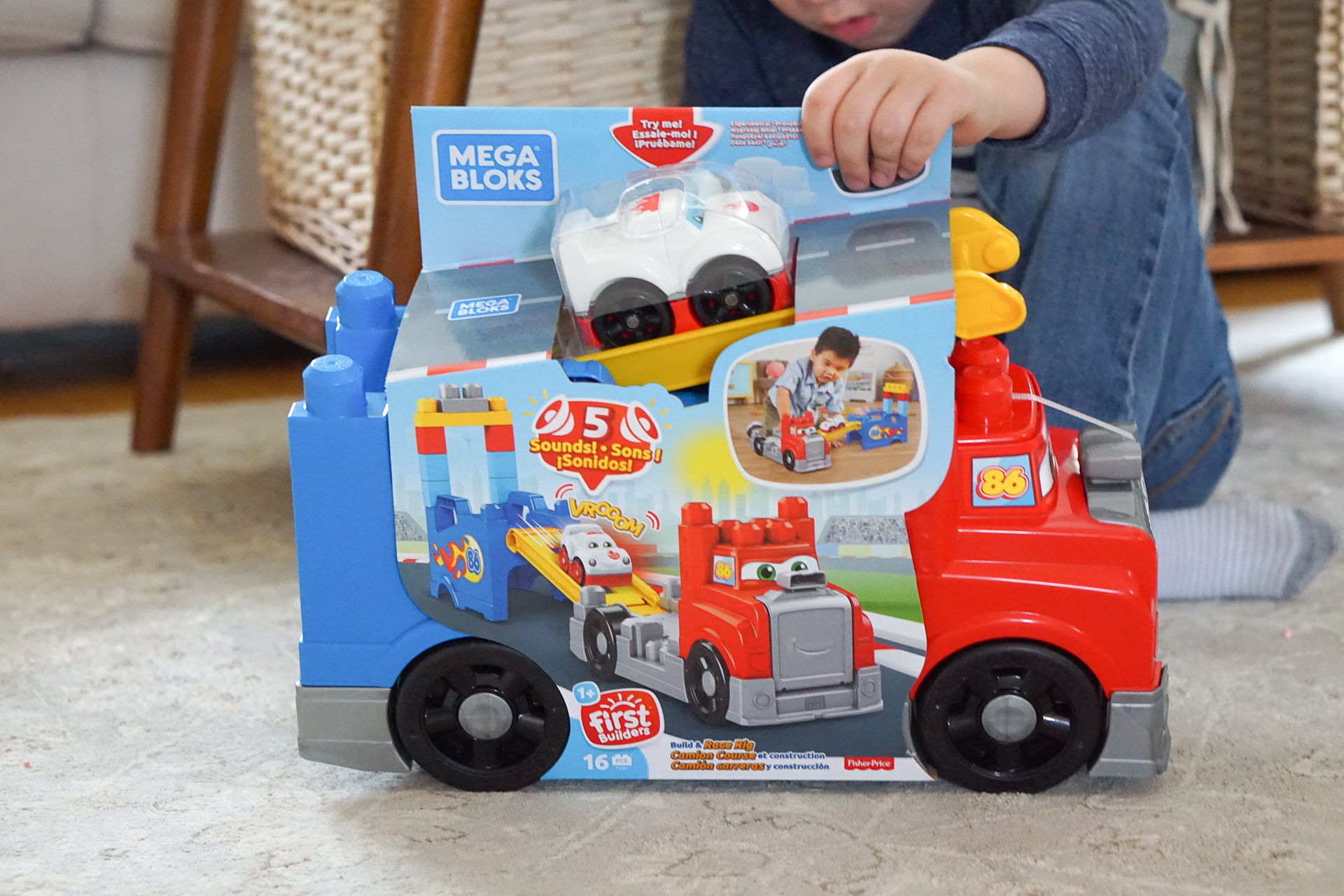 Mega Bloks Make Great Gifts They'll Grow With, Toddler to Preschooler