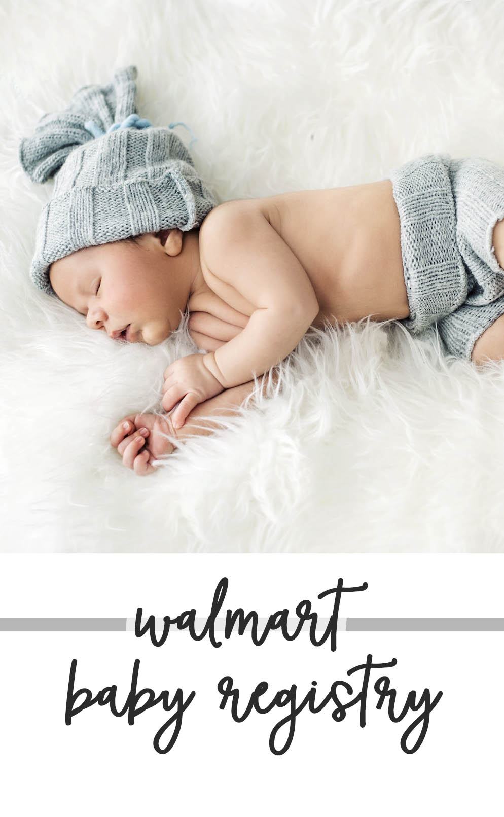 Walmart Baby Registry - New mom list of must-haves for baby