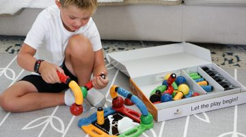 Magnetic Toys for STEAM and STEM Learning and Sensory Play - MagStix Building Set