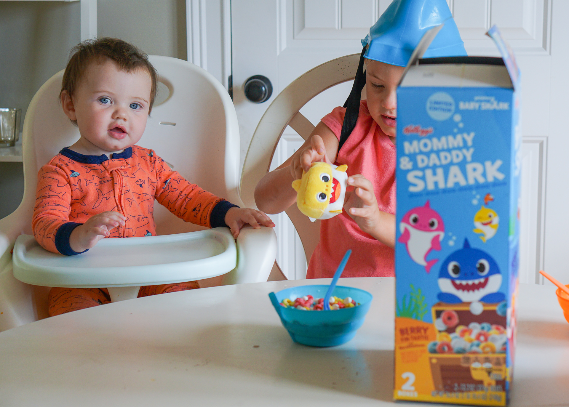 Baby Shark Cereal at Sam's Club – It's Fin-tastic! Kellogg's Breakfast Cereals