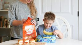 Lunch Box Ideas for Back to School - King's Hawaiian Bread Rolls Recipe @frostedevents