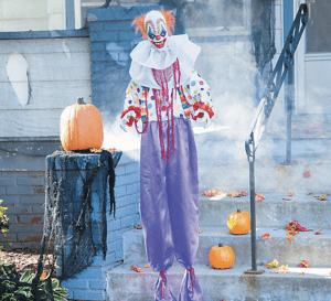 Scary Halloween Decorations 2019 - Animated Clown