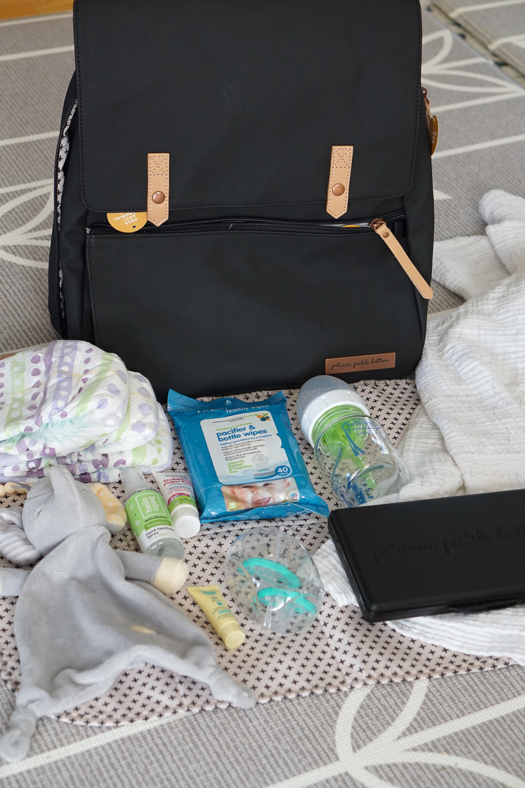 Diaper Bag - Whats in My Diaper Bag - Best Backpack Diaper Bag for Moms