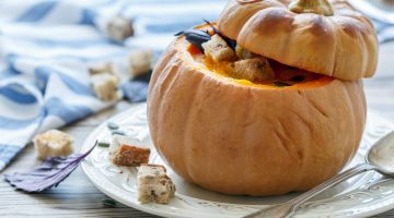 Fall soup recipes - Pumpkin Soup via Misty Nelson, Frosted Blog @frostedevents