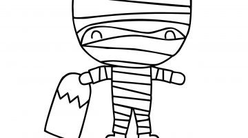 Halloween Coloring Pages - free printable coloring pages for kids - Misty Nelson @frostedevents