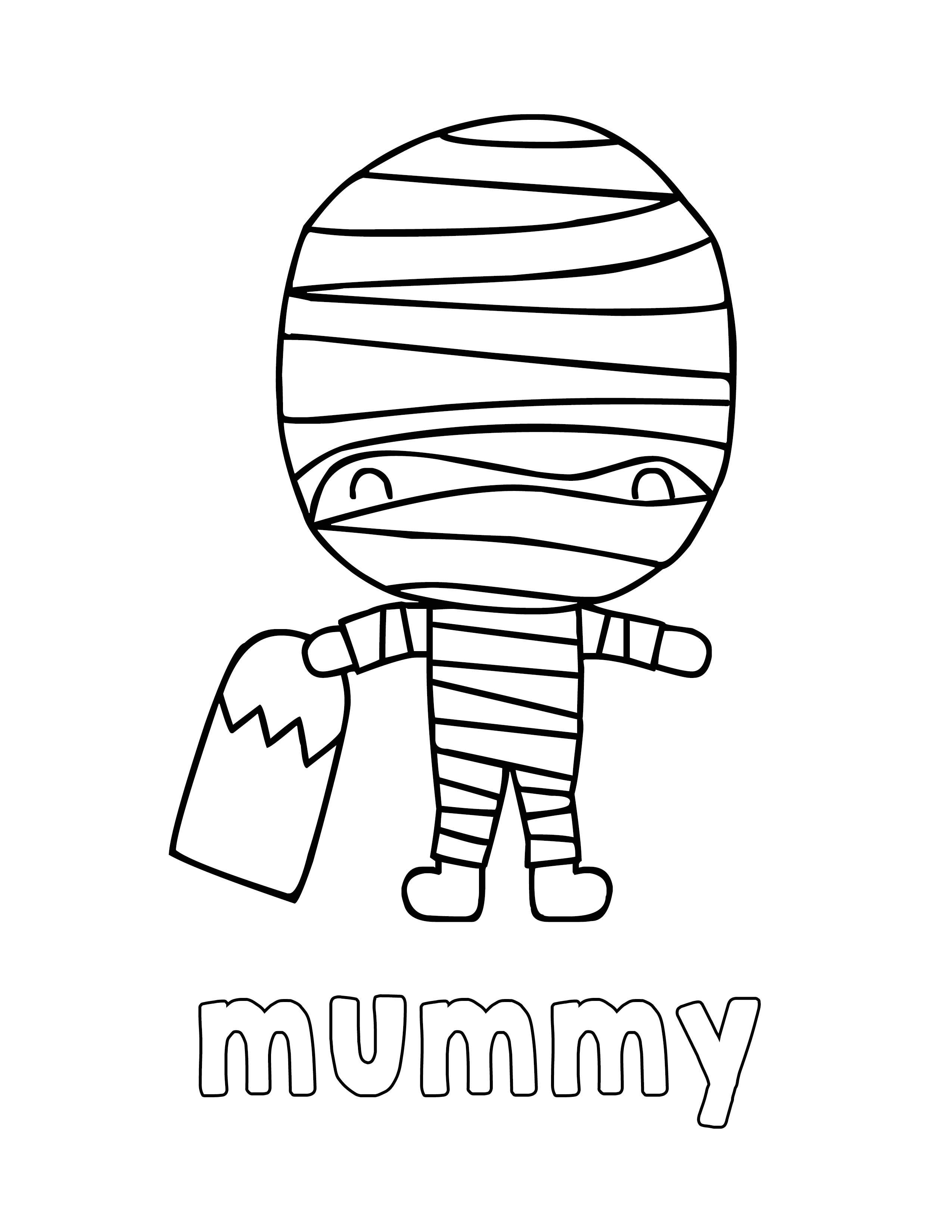 - Halloween Coloring Pages For Kids - Print And Color