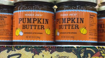 Trader Joes Pumpkin Butter - Fall Favorites via Misty Nelson @frostedblog