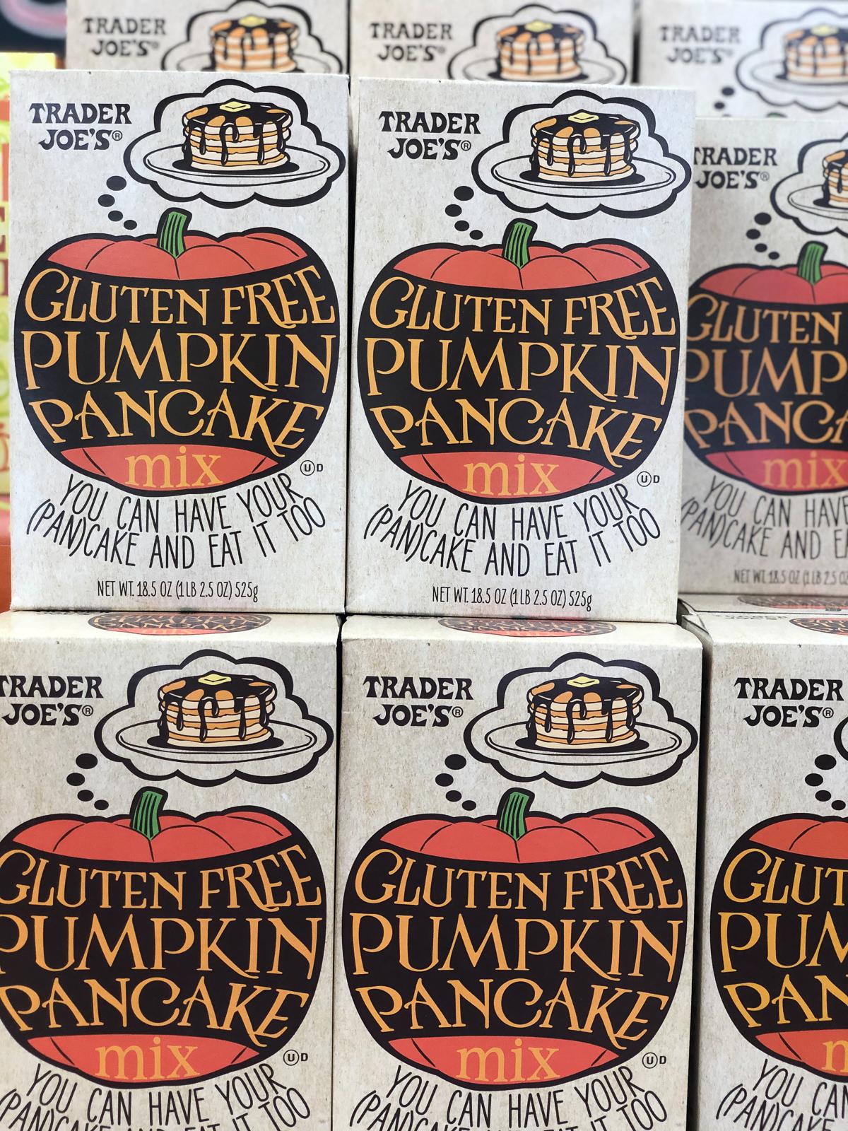 50+ Trader Joe's Pumpkin Favorites and Fall Eats - Gluten Free Pumpkin Pancake Mix