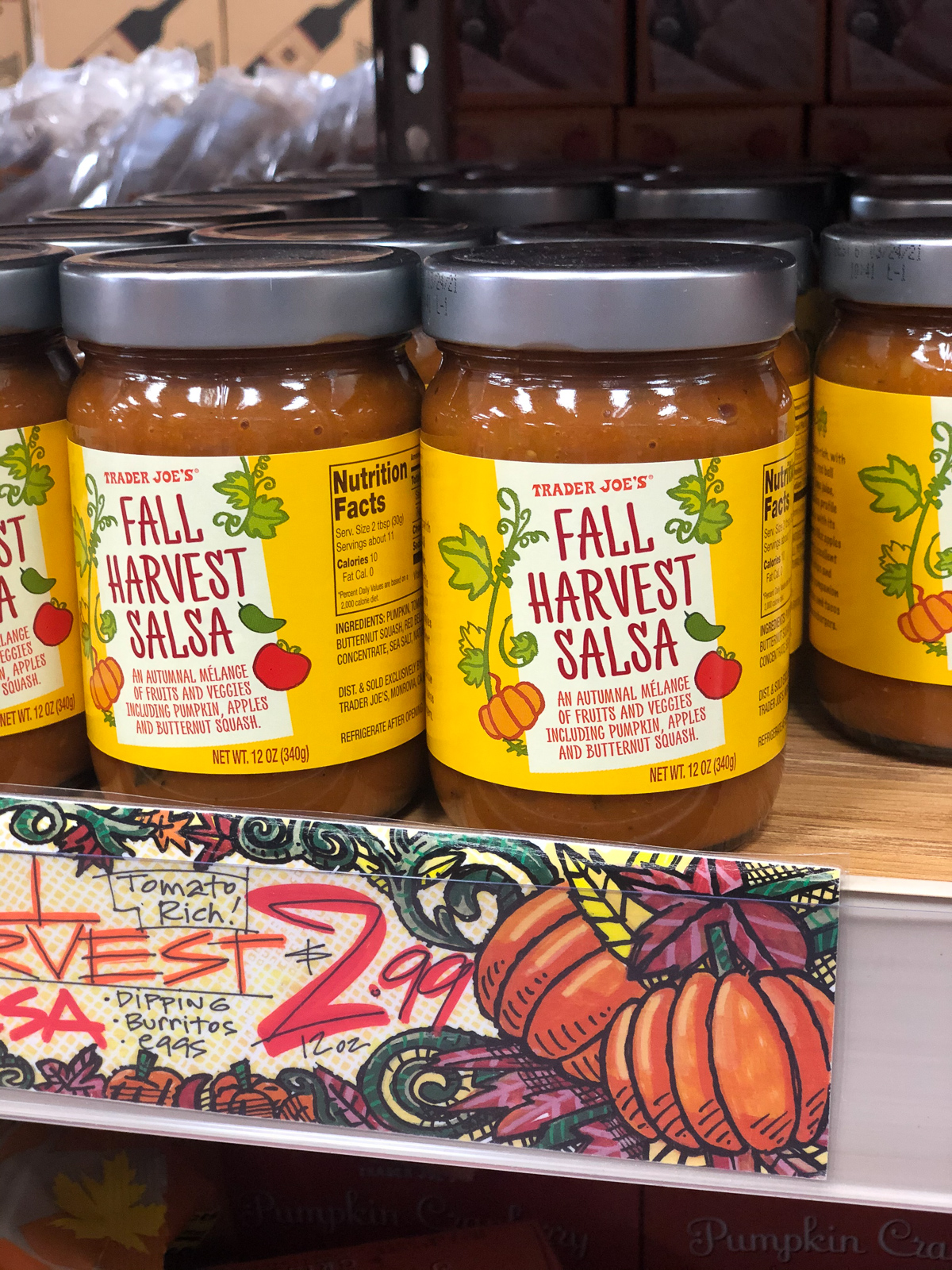50+ Trader Joe's Pumpkin Favorites and Fall Eats - Pumpkin Spice Cookies