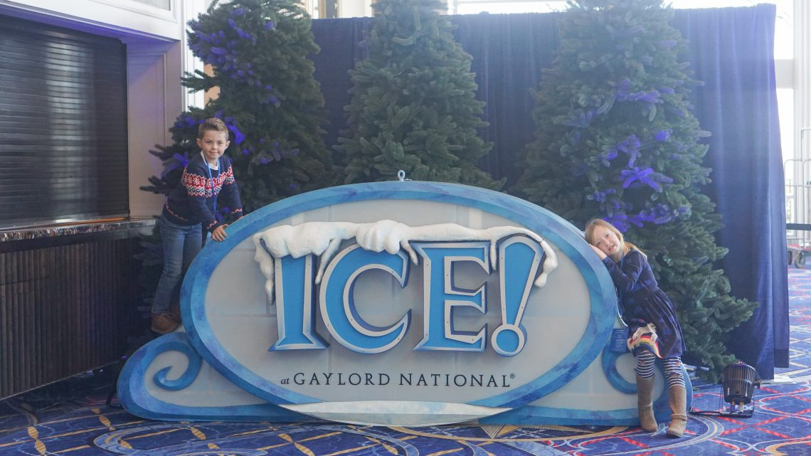 Gaylord National Resort - ICE! 2019 Christmas on the Potomac - Holiday Events Washington DC