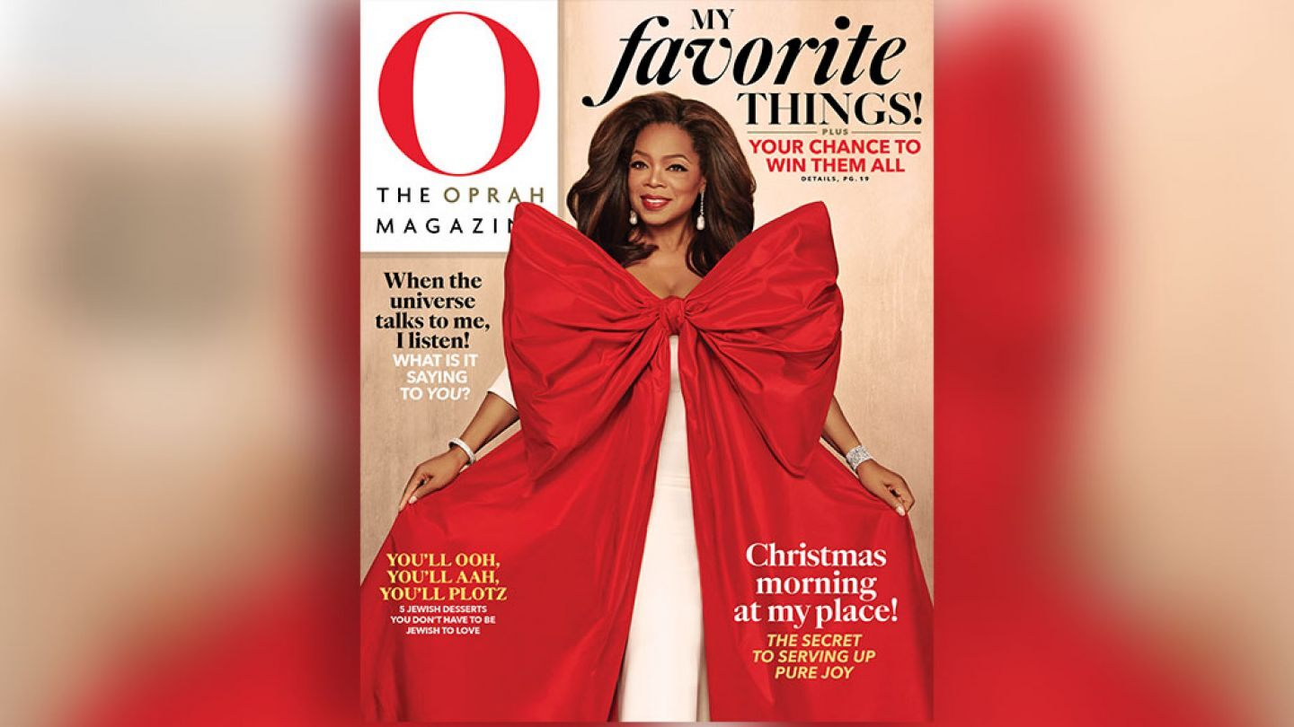 Oprah's Favorite Things 2019 - OMagazine December Issue - Misty Nelson frostedevents #OmagInsiders