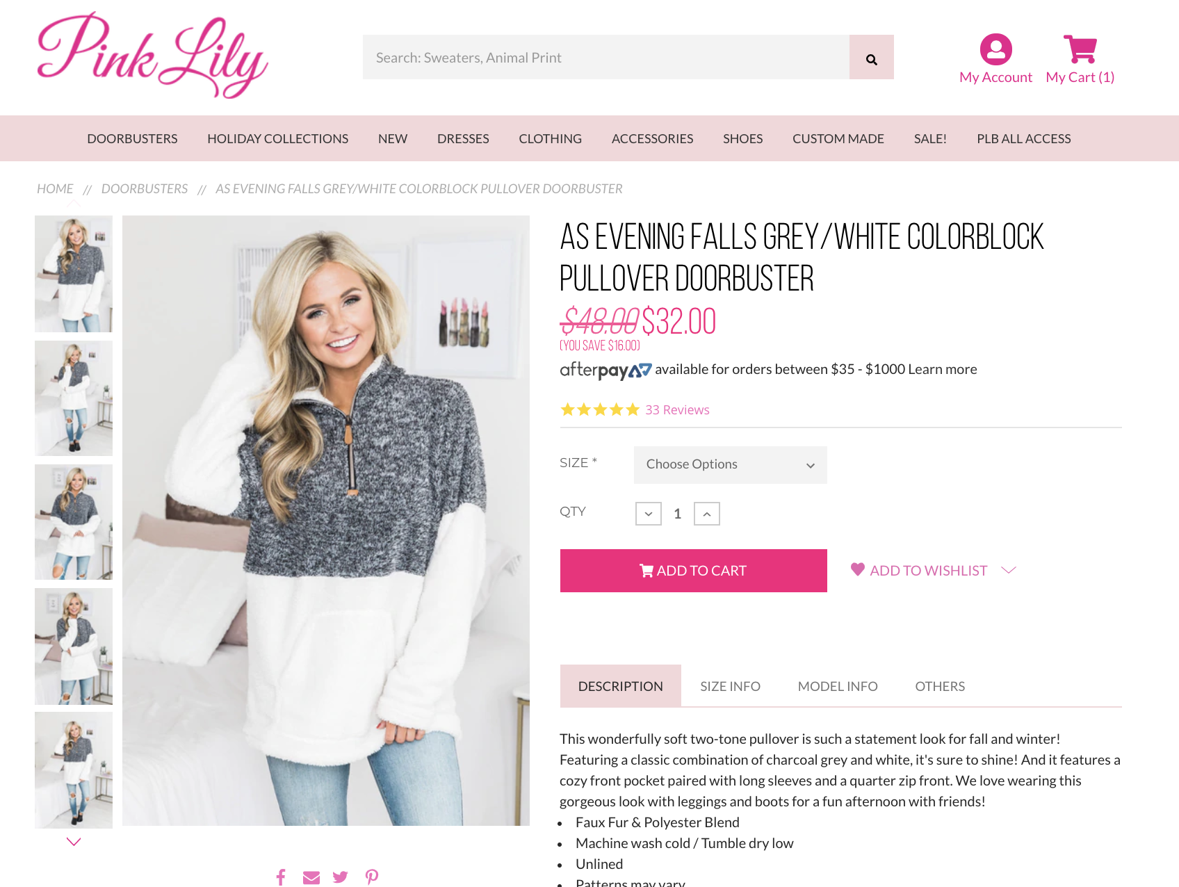 Pink Lily Boutique Discount Cyber Monday Sale