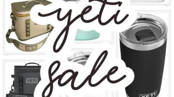 Yeti Cyber Monday Sale and Hydro Flask Sale
