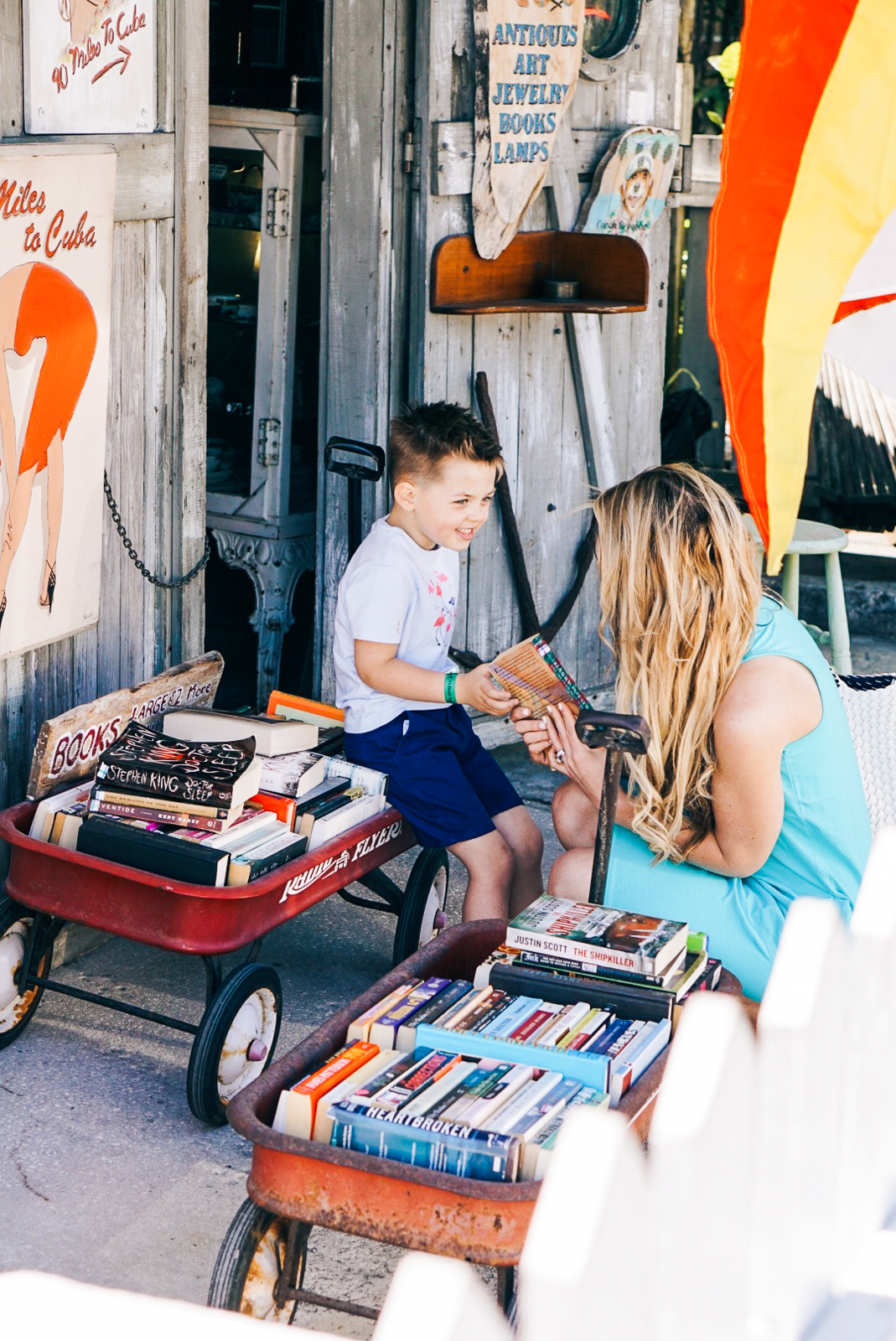 Key West - Things to Do in Key West - Misty Nelson, family travel blogger @frostedevents bookstore