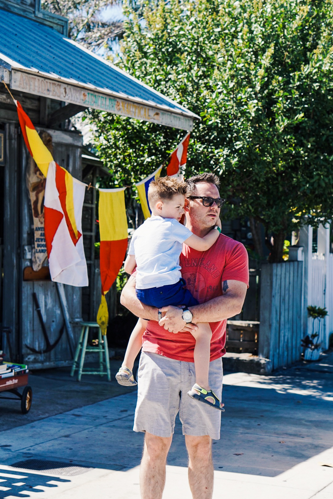 Key West - Things to Do in Key West - Misty Nelson, family travel blogger @frostedevents father and son