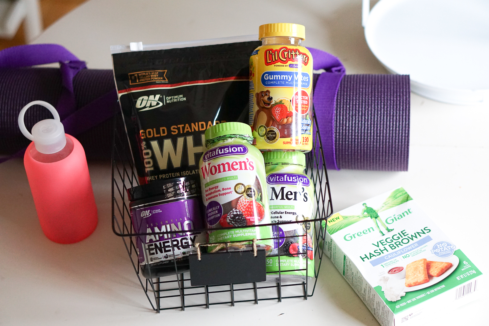 Healthy Habits for the Best Year Ever! Family Health and Wellness Tips - Our New Years Resolutions plan with vitafusion, Green Giant and Optimum Nutrition