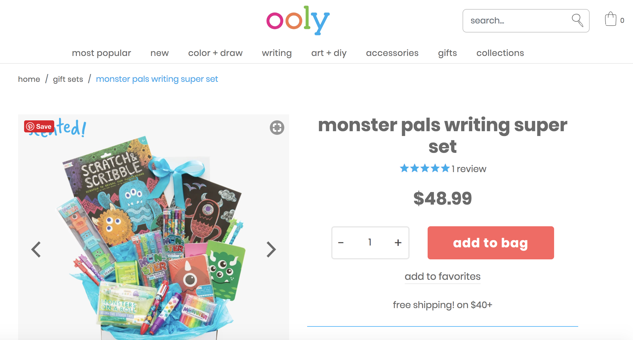 OOLY Gifts for Kids - Stationary, stickers and fun sets for creatives