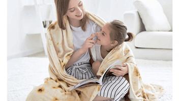 Burrito Blanket on Amazon
