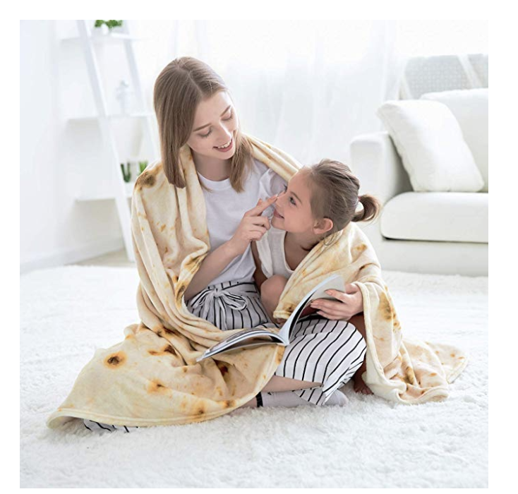 Burrito Blanket on Amazon