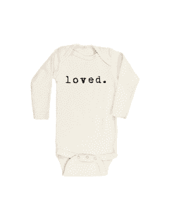 Loved organic onesie tenth & pine nordstrom - Misty Nelson, frostedblog @frostedevents