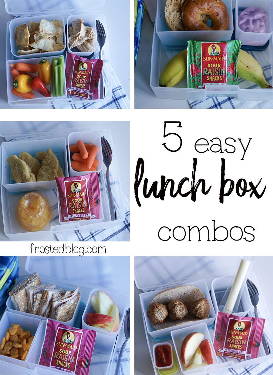 Bento Box Ideas - Easy Lunch Box Combos for Kids Lunches - Kids Meals