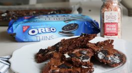 OREO Cookie Brownie Crisps Recipe
