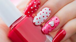 Valentines Nails - 50 Valentines Day nail design ideas, from flirty pinks to racy reds