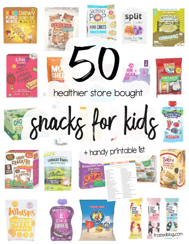 Healthy Kids Snacks to Buy