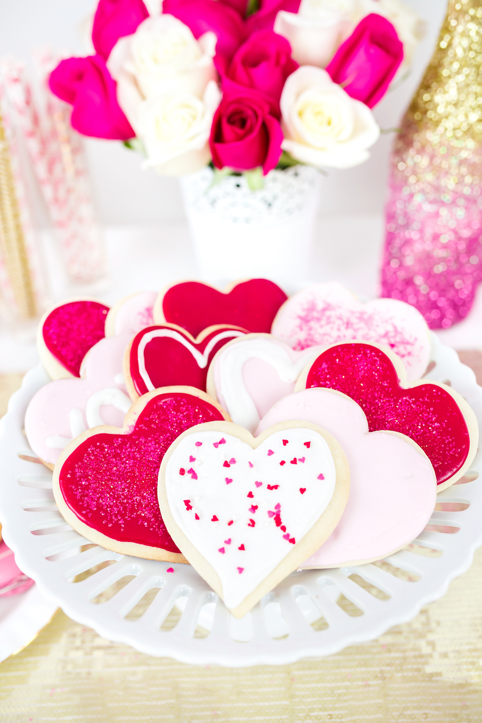 Valentines Day Treats - Heart cookies