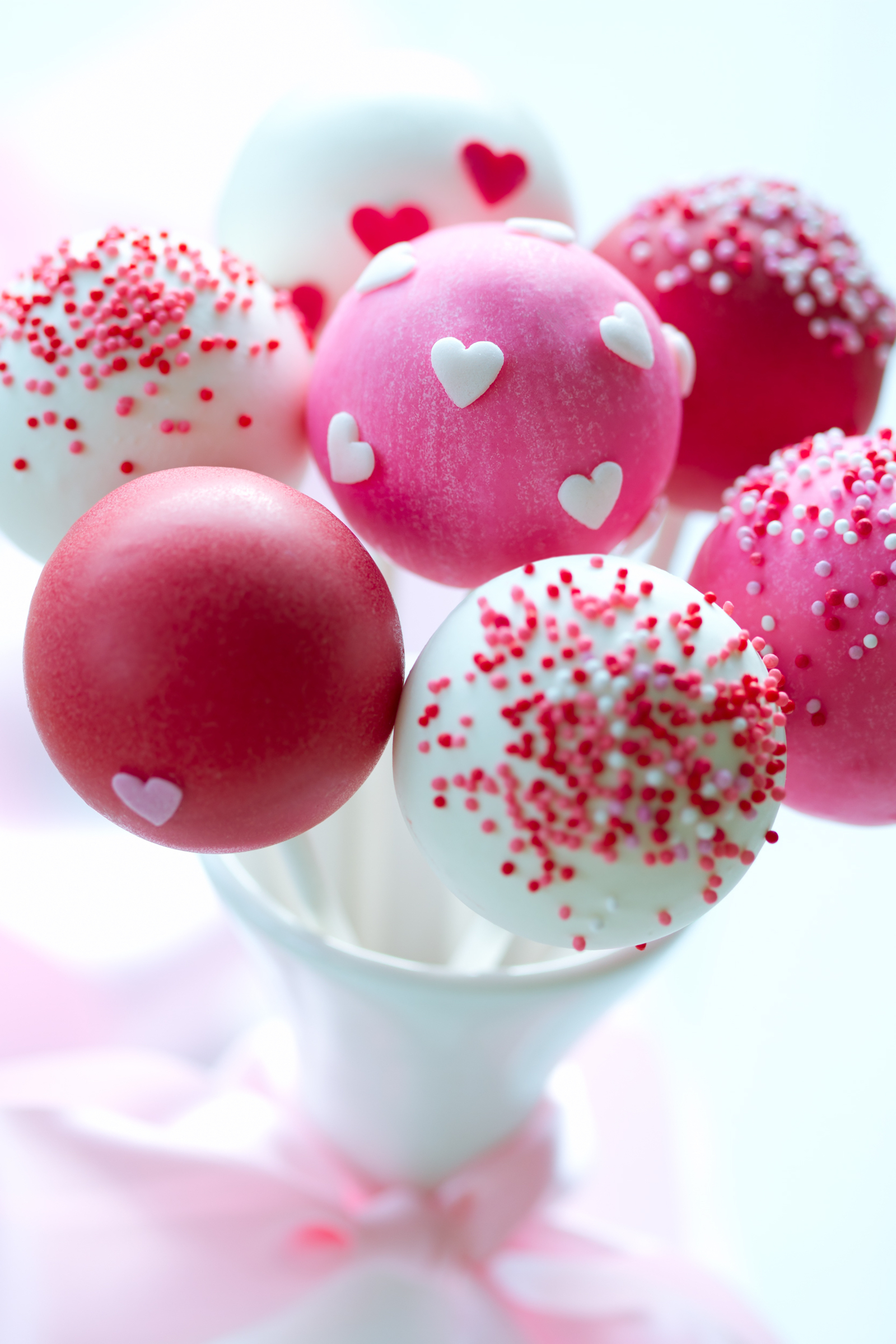 Valentines Day Treats - Valentines Cake Pops
