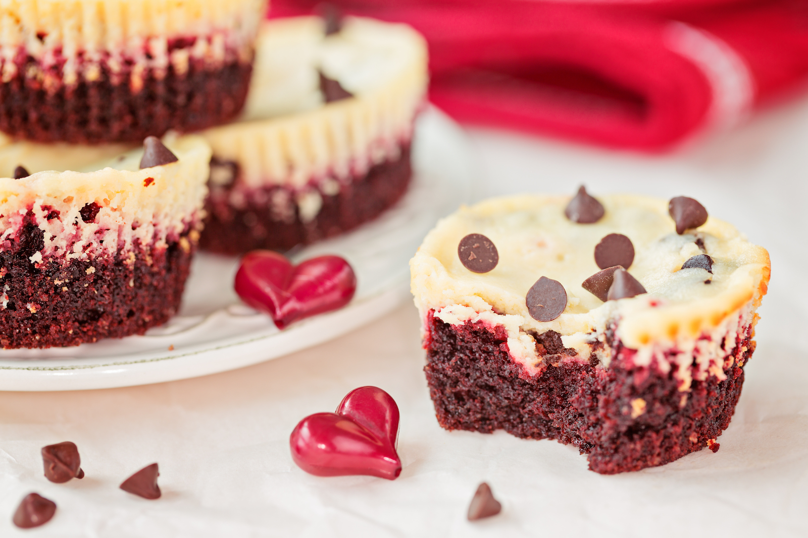 Valentines Day Treats -Red Velvet bites