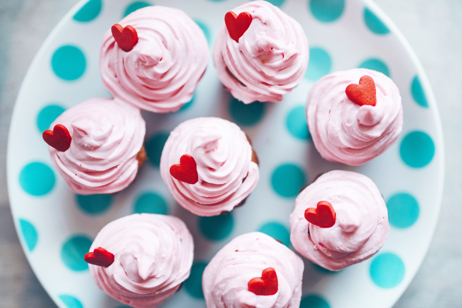Valentines Day Treats - cupcakes