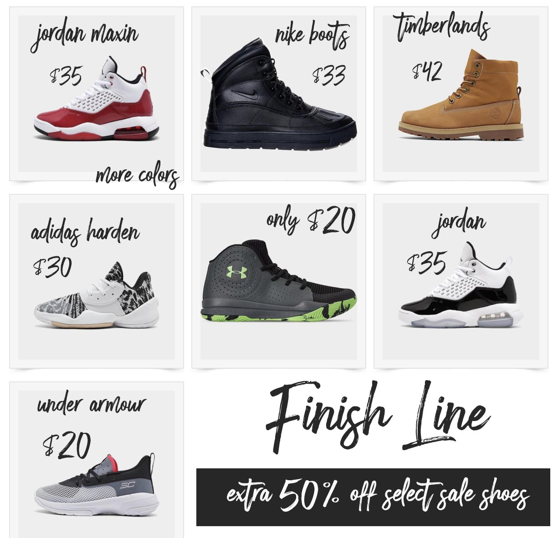 Finish Line Shoe Sale Discount Code