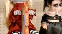 Halloween Decorations - Creepy Decor Big Lots Zombie Dolls