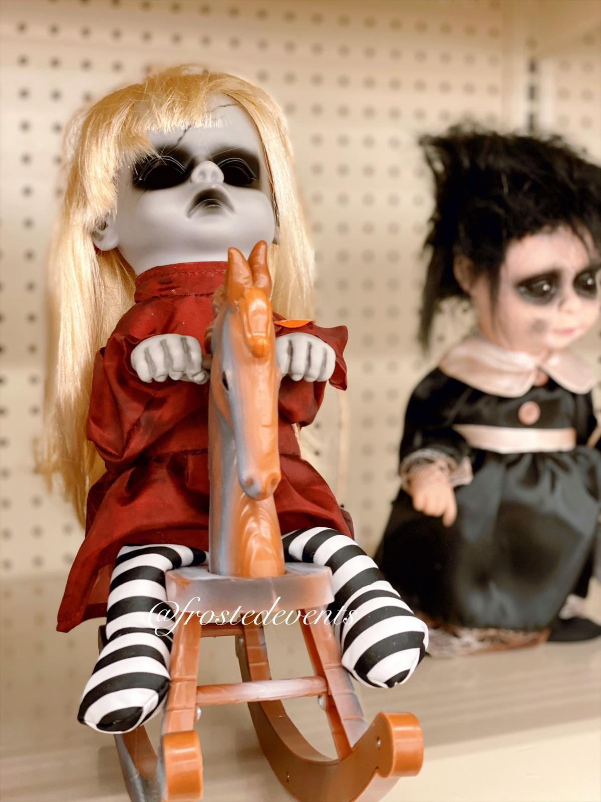 Creepy Halloween Decorations - Halloween Decor Big Lots Zombie Dolls