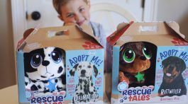 Rescue Tales Puppy Dog Toys Plush